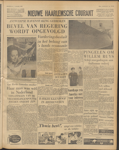 Nieuwe Haarlemsche Courant 1965-01-07