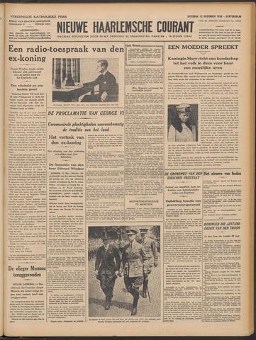 Nieuwe Haarlemsche Courant 1936-12-12
