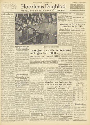 Haarlem's Dagblad 1954-11-25