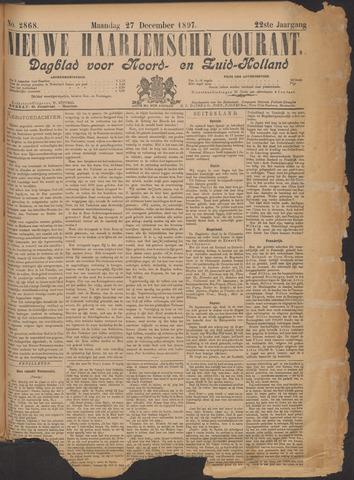 Nieuwe Haarlemsche Courant 1897-12-27