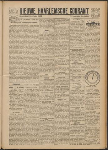 Nieuwe Haarlemsche Courant 1922-10-26