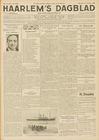 Haarlem's Dagblad 1935-10-21