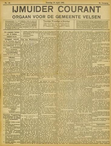IJmuider Courant 1921-04-16