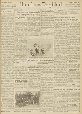 Haarlem's Dagblad 1947-02-07