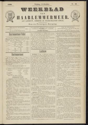 Weekblad van Haarlemmermeer 1880-10-01