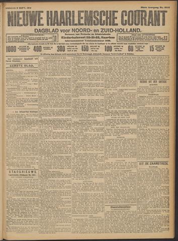 Nieuwe Haarlemsche Courant 1913-09-09