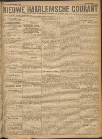 Nieuwe Haarlemsche Courant 1918-09-20