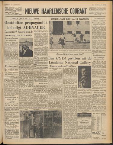Nieuwe Haarlemsche Courant 1961-08-23