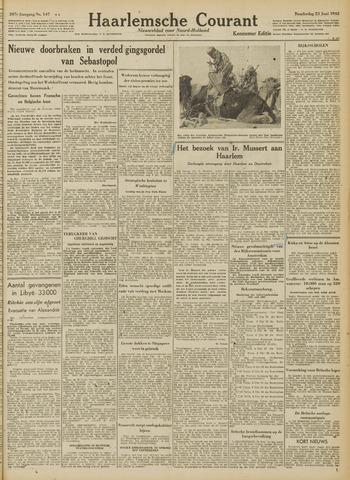 Haarlemsche Courant 1942-06-25