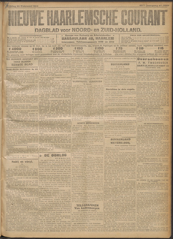 Nieuwe Haarlemsche Courant 1916-02-25
