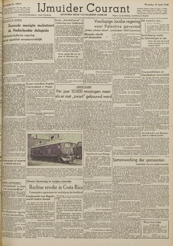 IJmuider Courant 1948-04-14