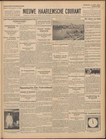 Nieuwe Haarlemsche Courant 1934-06-05