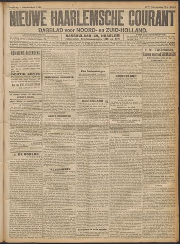 Nieuwe Haarlemsche Courant 1916-12-01