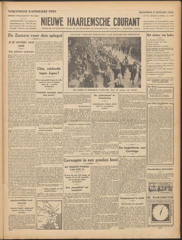 Nieuwe Haarlemsche Courant 1933-01-09