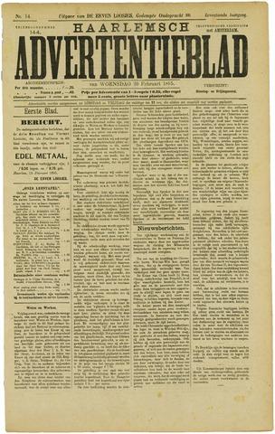 Haarlemsch Advertentieblad 1895-02-20