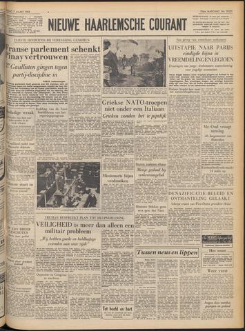 Nieuwe Haarlemsche Courant 1952-03-07