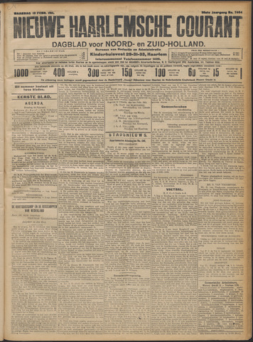 Nieuwe Haarlemsche Courant 1911-02-13