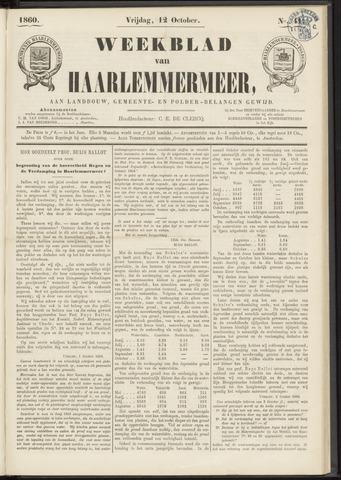 Weekblad van Haarlemmermeer 1860-10-12
