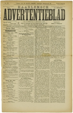 Haarlemsch Advertentieblad 1888-12-08