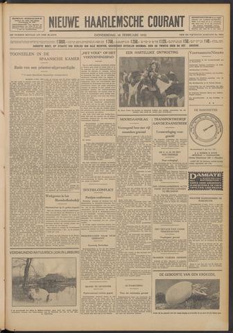 Nieuwe Haarlemsche Courant 1932-02-18