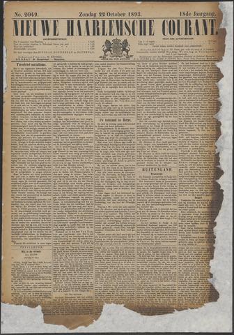 Nieuwe Haarlemsche Courant 1893-10-22