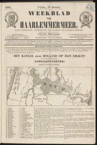 Weekblad van Haarlemmermeer 1863-01-30