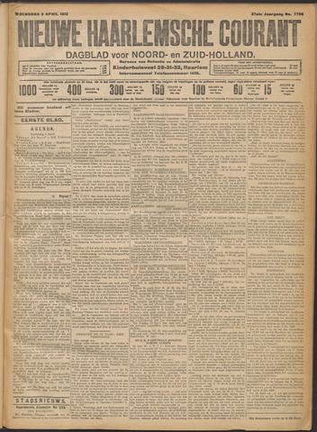 Nieuwe Haarlemsche Courant 1912-04-03