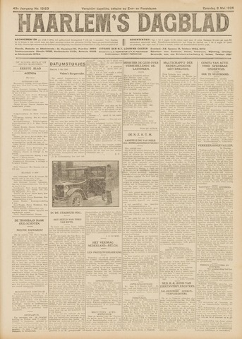 Haarlem's Dagblad 1926-05-08