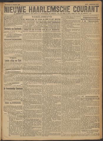 Nieuwe Haarlemsche Courant 1918-03-25