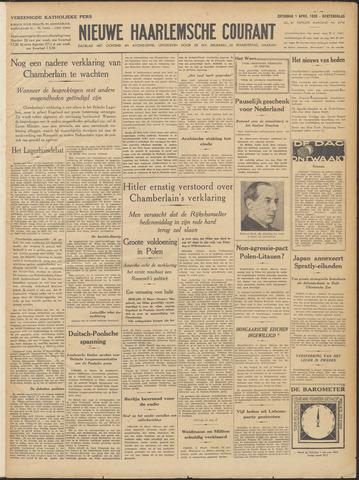 Nieuwe Haarlemsche Courant 1939-04-01