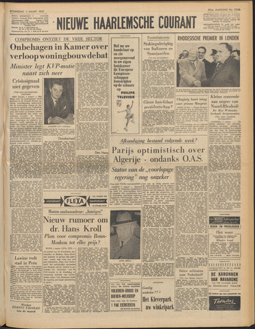 Nieuwe Haarlemsche Courant 1962-03-01