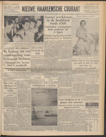 Nieuwe Haarlemsche Courant 1958-01-30