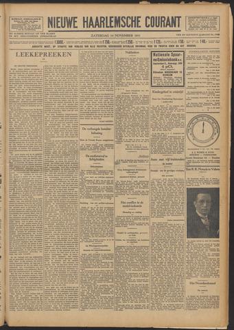 Nieuwe Haarlemsche Courant 1931-11-14