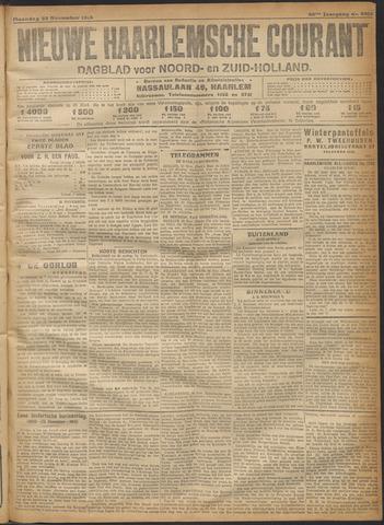 Nieuwe Haarlemsche Courant 1915-11-22