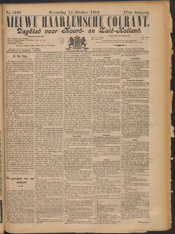 Nieuwe Haarlemsche Courant 1902-10-15