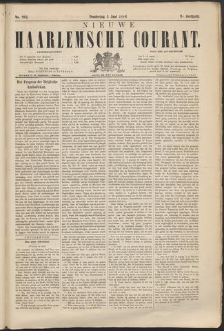 Nieuwe Haarlemsche Courant 1884-06-05