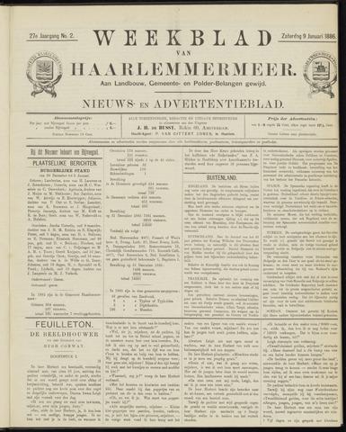 Weekblad van Haarlemmermeer 1886-01-09