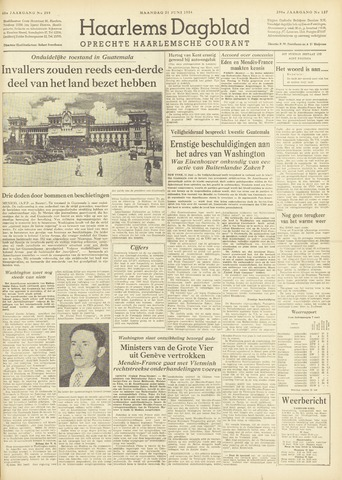 Haarlem's Dagblad 1954-06-21