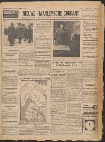 Nieuwe Haarlemsche Courant 1939-11-03