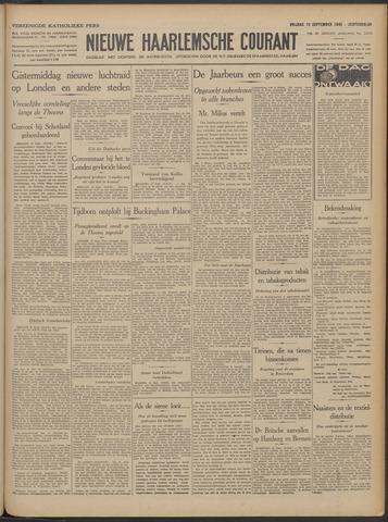 Nieuwe Haarlemsche Courant 1940-09-13