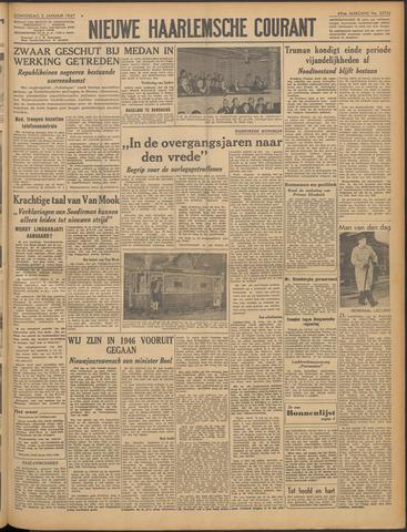 Nieuwe Haarlemsche Courant 1947