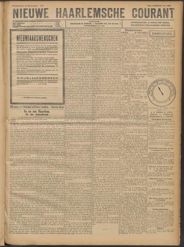 Nieuwe Haarlemsche Courant 1921-12-29