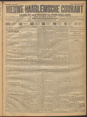 Nieuwe Haarlemsche Courant 1914-05-06