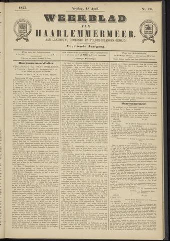 Weekblad van Haarlemmermeer 1873-04-18