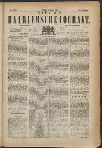 Nieuwe Haarlemsche Courant 1892-03-04