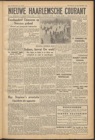 Nieuwe Haarlemsche Courant 1946-09-25