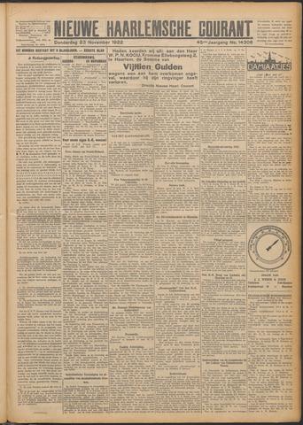 Nieuwe Haarlemsche Courant 1922-11-23