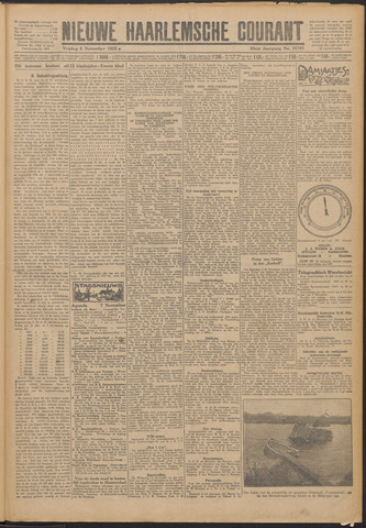 Nieuwe Haarlemsche Courant 1925-11-06
