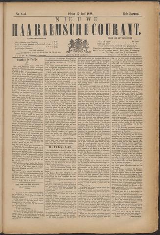 Nieuwe Haarlemsche Courant 1888-06-15