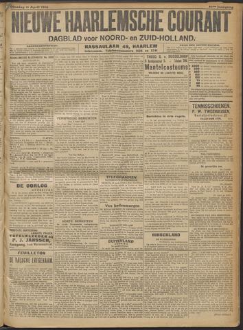 Nieuwe Haarlemsche Courant 1916-04-11
